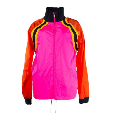 Men's Logo Nylon Jacket // Pink (Euro: 40)