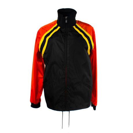 Men's Logo Nylon Jacket // Orange (Euro: 40)