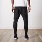 Contemporary Zippered Jogger // Black (31WX32L)