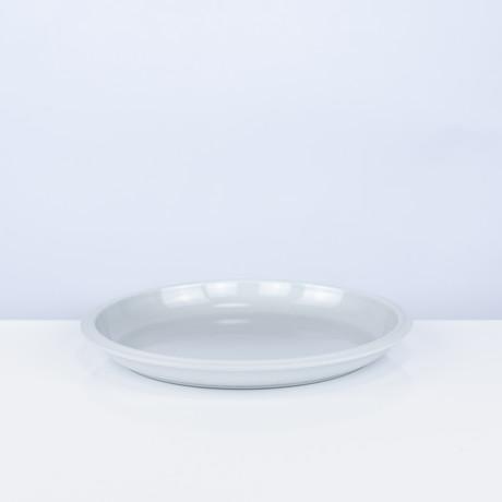 Tinge Porcelain Salad // Set of 2 (Ash Gray)