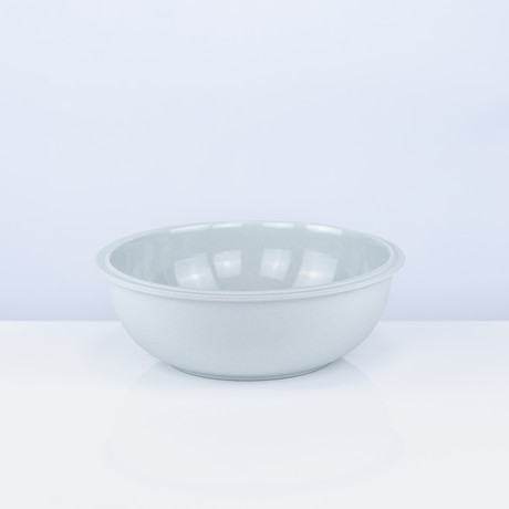 Tinge Porcelain Bowl // Set of 2 (Ash Gray)