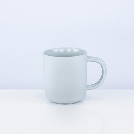 Tinge Porcelain Mug (Ash Gray)