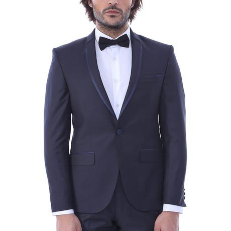 Moses Slim Fit 2-Piece Tuxedo // Navy (Euro: 44)