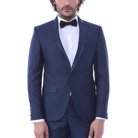 Ali Slim Fit 2-Piece Tuxedo // Navy (Euro: 44)