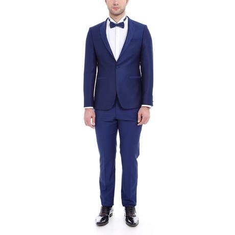 Holden Slim Fit 2-Piece Tuxedo // Navy (Euro: 44)