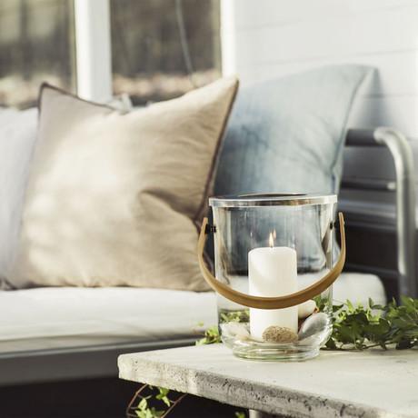 Wine Cooler + Nature Lantern