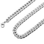 """Fibra Chain // Silver // 6mm (15.75"""")"""