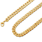 "Fibra Chain // Gold Finish // 6mm (15.75"")"