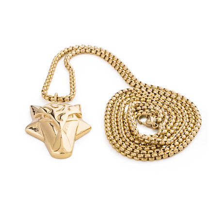 Ferus Pendant / Necklace (Gold)
