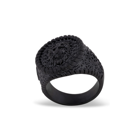 Imperator Ring // Matte Black (Size 6)