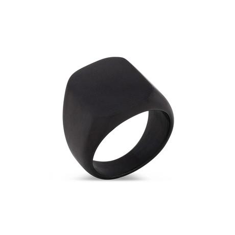 Iustitia Ring // Matte Black (6)