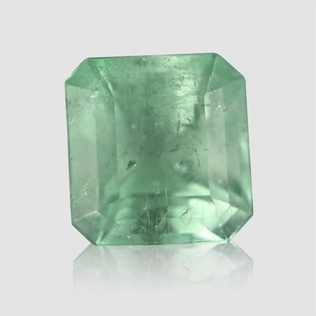 Beautiful Mint Green Colombian Emerald // 7.2 carats