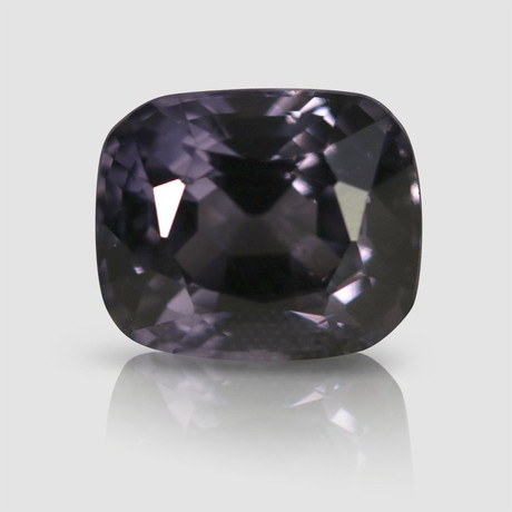 Silvery Violet Spinel // Rectangular Cushion Cut // 5.93 Carats