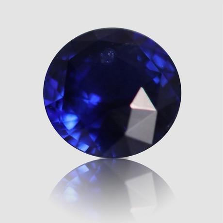 Royal Blue Sapphire // Round/Mixed Cut // 1.05 Carats