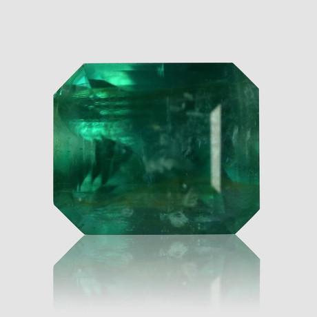 Bright Blue//Green Ethiopian Emerald // 4.03 carats