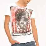 Skull T-Shirt // Off White (S)