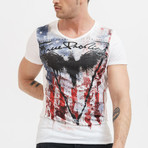Eagle of death T-Shirt // White (S)