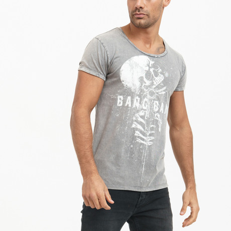 Clay T-Shirt // Dark Gray (L)