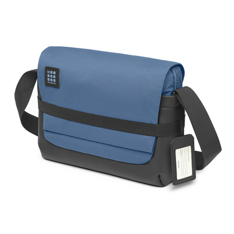 ID Messenger Bag // Boreal Blue