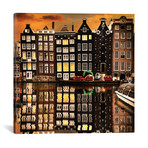 "Amsterdam II // Enzo Romano (12""W x 12""H x 0.75""D)"