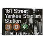 "NYC Subway Station II // Luke Wilson (18""W x 12""H x 0.75""D)"