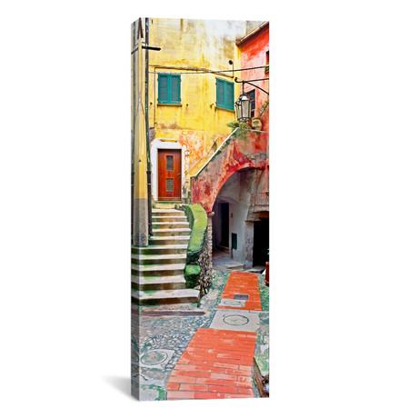 """Rustic Tellaro, Tellaro, Italy I // Jim Nilsen (12""""W x 36""""H x 0.75""""D)"""