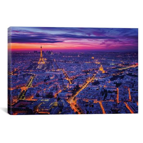 """Paris I // Juan Pablo de Miguel (18""""W x 12""""H x 0.75""""D)"""