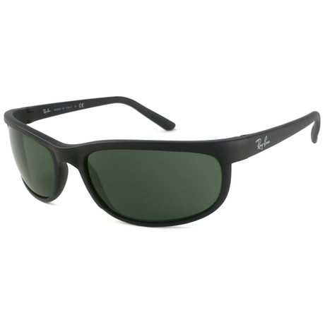 Ray-Ban // Nylon Predator 2 Sunglasses // Matte Black + Green