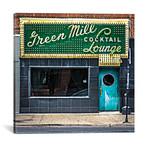 "Green Mill Cocktail Lounge // Raymond Kunst (12""W x 12""H x 0.75""D)"