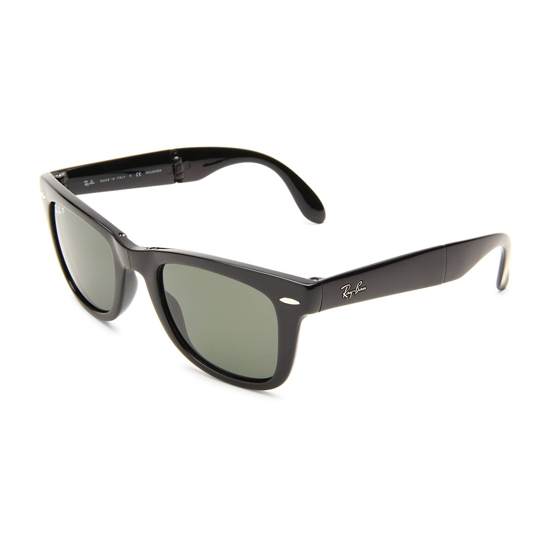 ray ban folding wayfarer polarized sunglasses