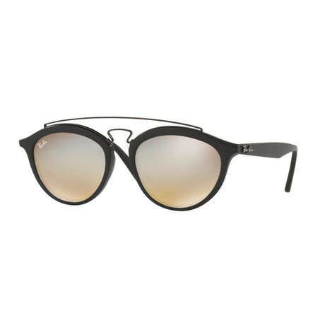Ray-Ban // Gatsby II Sunglasses // Black + Silver Gradient Flash