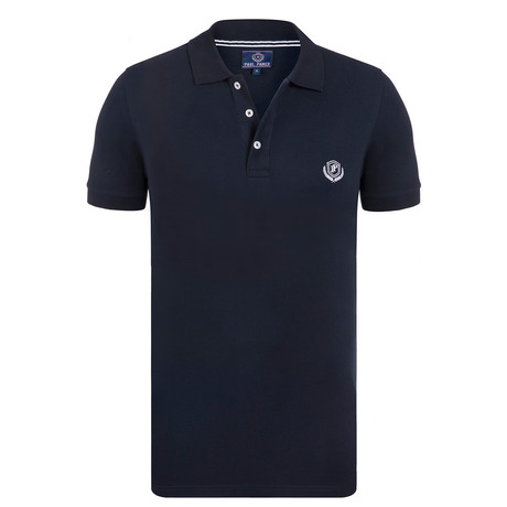 Polo Shirt Short Sleeve	// Navy (S)