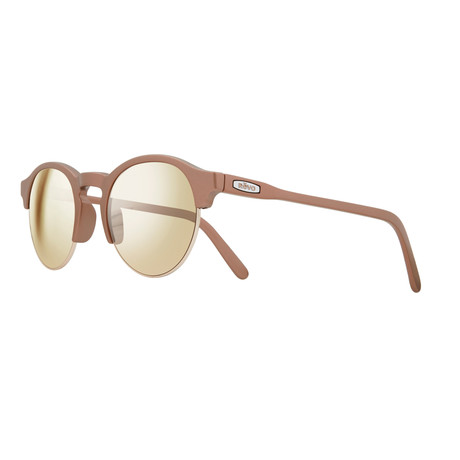 Reign Sunglasses // Matte Metallic Rose