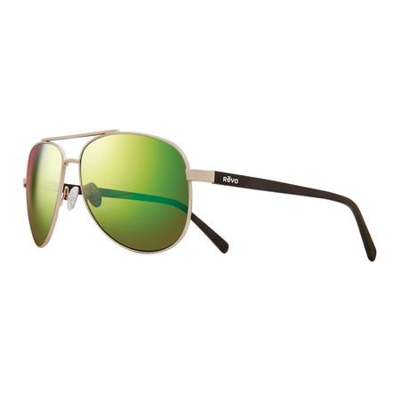 Shaw Sunglasses // Shiny Gold