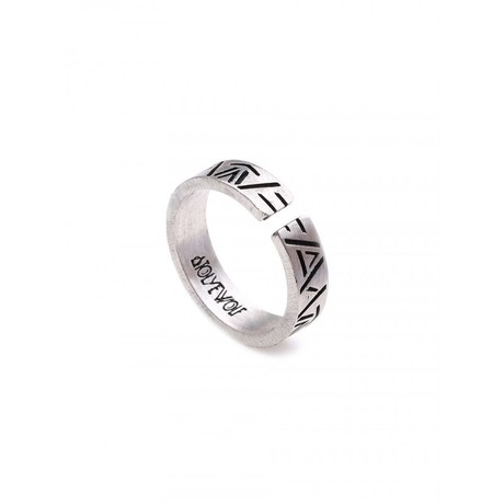 Inscription Ring // Grey