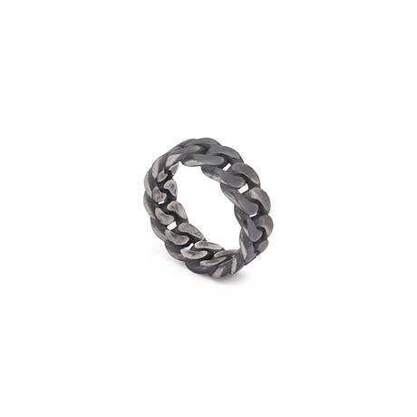 Curb Chain Ring (Black, Oxide)