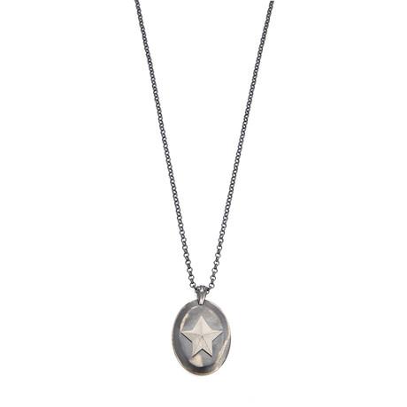 Star Necklace // Black Oxide