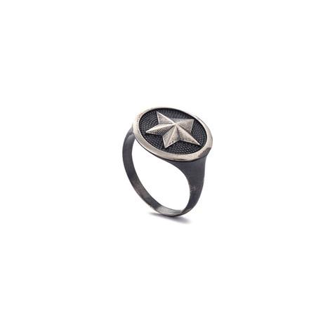 Star Ring // Black Oxide