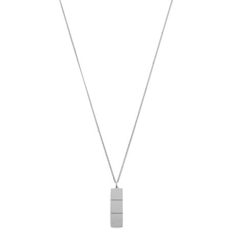 Layers Necklace (Black Oxide)
