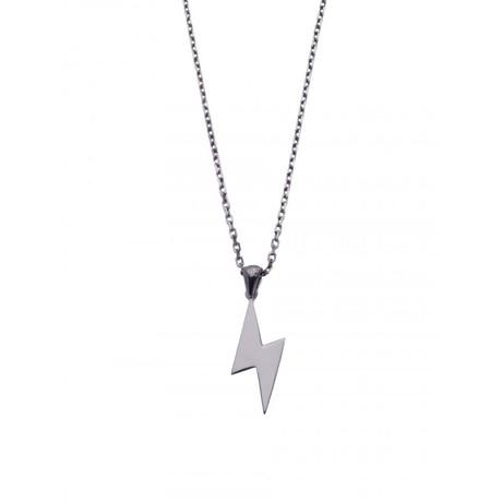 Lightning Necklace (18K Gold Plated)
