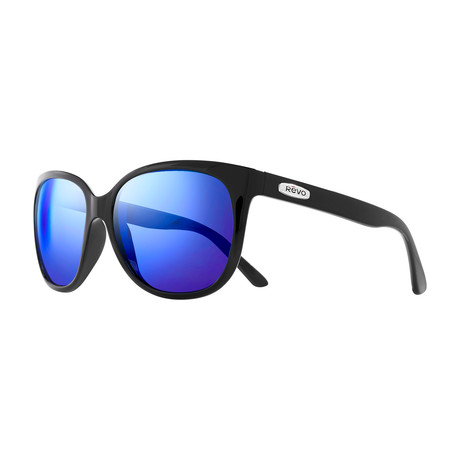 Grand Classic Polarized Sunglasses // Black Frame Frame + Heritage Blue Lens