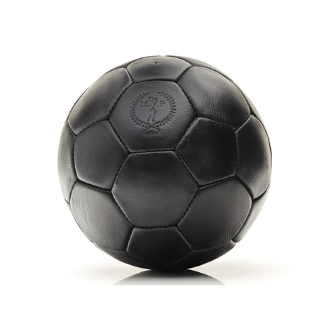 Executive Leather 32P Soccer Ball // Black