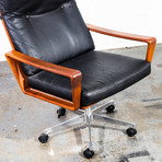 Danish Executive Office Chair By Komfort