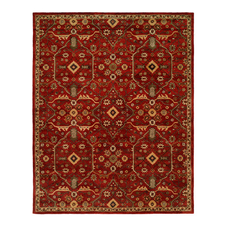 Terzo Traditional // Russet (2' x 3')