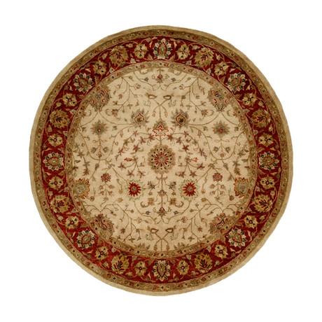 Terzo Traditional // Ivory + Rust (2' x 3')