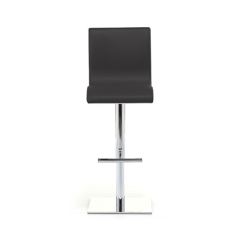 Condor SG Chrome Bar Stool // Black