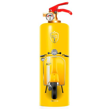 Safe-T Designer Fire Extinguisher // V-Yellow