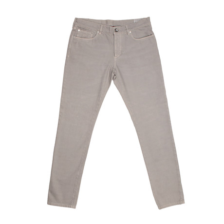 5 Pocket Classic Denim // Gray (28WX32L)