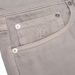 5 Pocket Classic Denim // Gray (30WX32L)