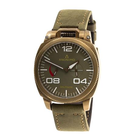 Anonimo Militare Alpini Automatic // AM.1010.04.002.A01 // Store Display